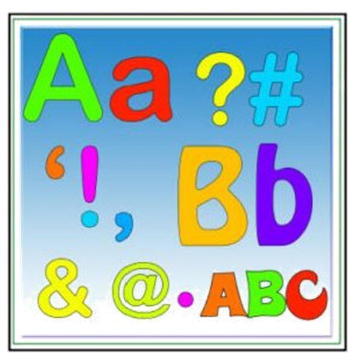 Appliqued Alphabet by Gail Penberthy