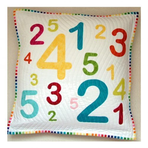 Applique Numbers by Gail Penberthy