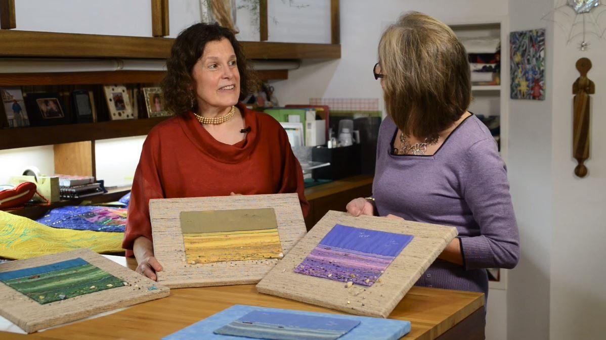 Framed landscapes with Linda Seward