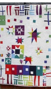 Modern Jazz Improvised Modern Sampler Pattern by Helen Howes