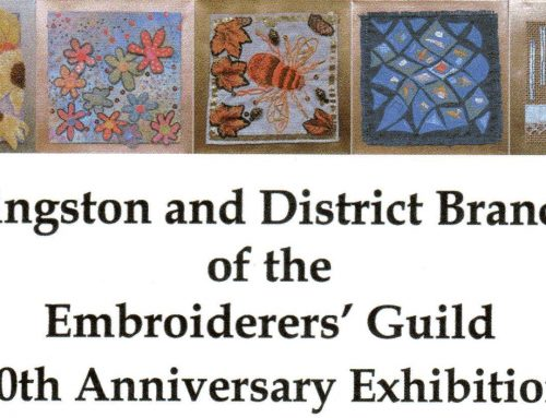 Kingston and District Branch of the Embroiderers'Guild 50th Exhibition in Surrey