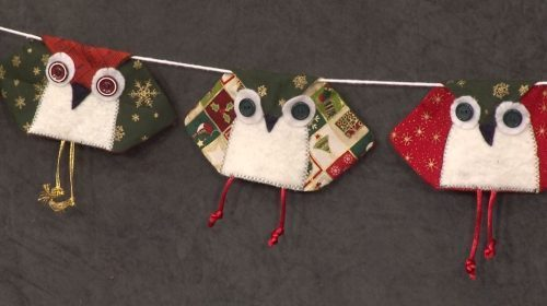 Owl Bunting with Jennie Rayment