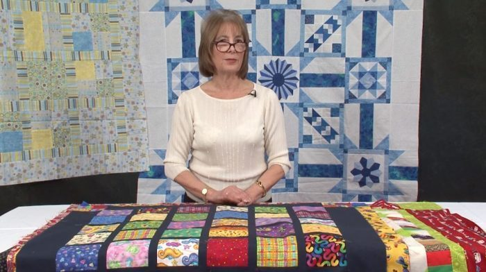 Sashing Your Quilt with Valerie Nesbitt