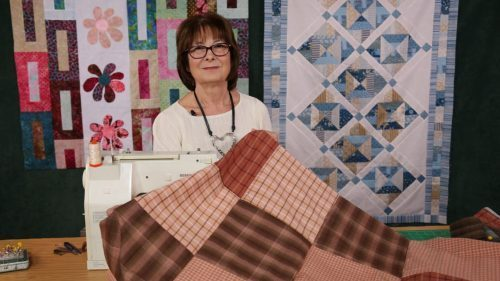 Super Quick 13 Minute quilt with Valerie Nesbitt