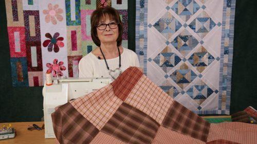 Super Quick 13 Minute quilt with Valerie Nesbitt