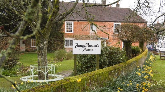 Visit to the Jane Austen House Museum, Chawton Hants