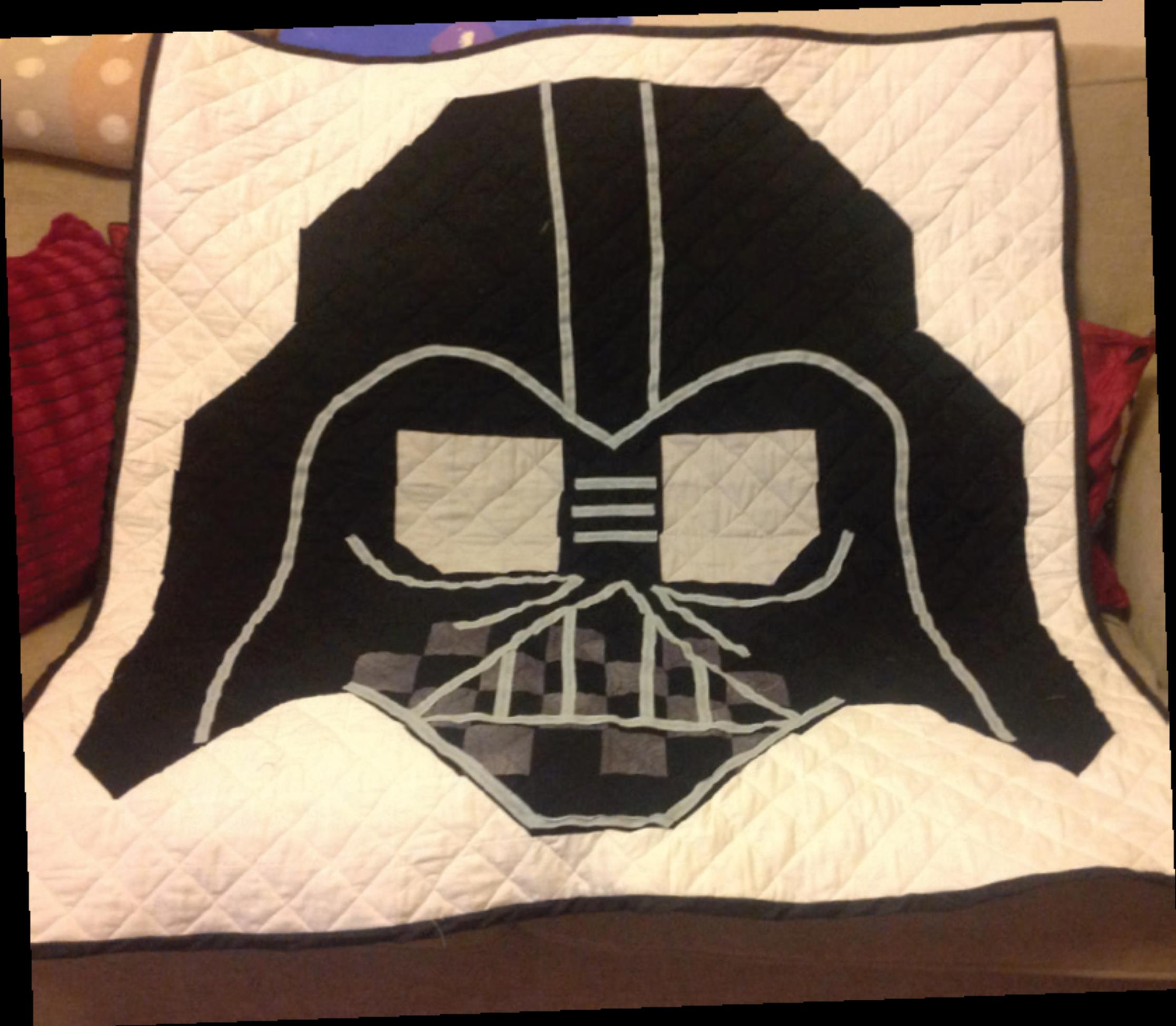 Darth Vader Readers Make Quilt Now Issue 66