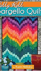 BOOK of the MONTH Jan 2021: Jelly Roll Bargello Quilts by Karin Hellaby