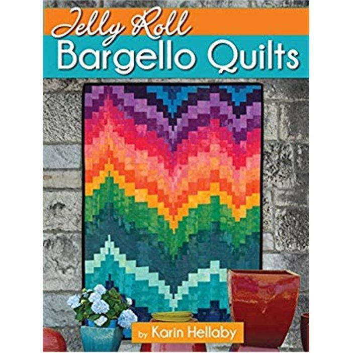 Jelly Roll Bargello Quilts by Karin Hellaby