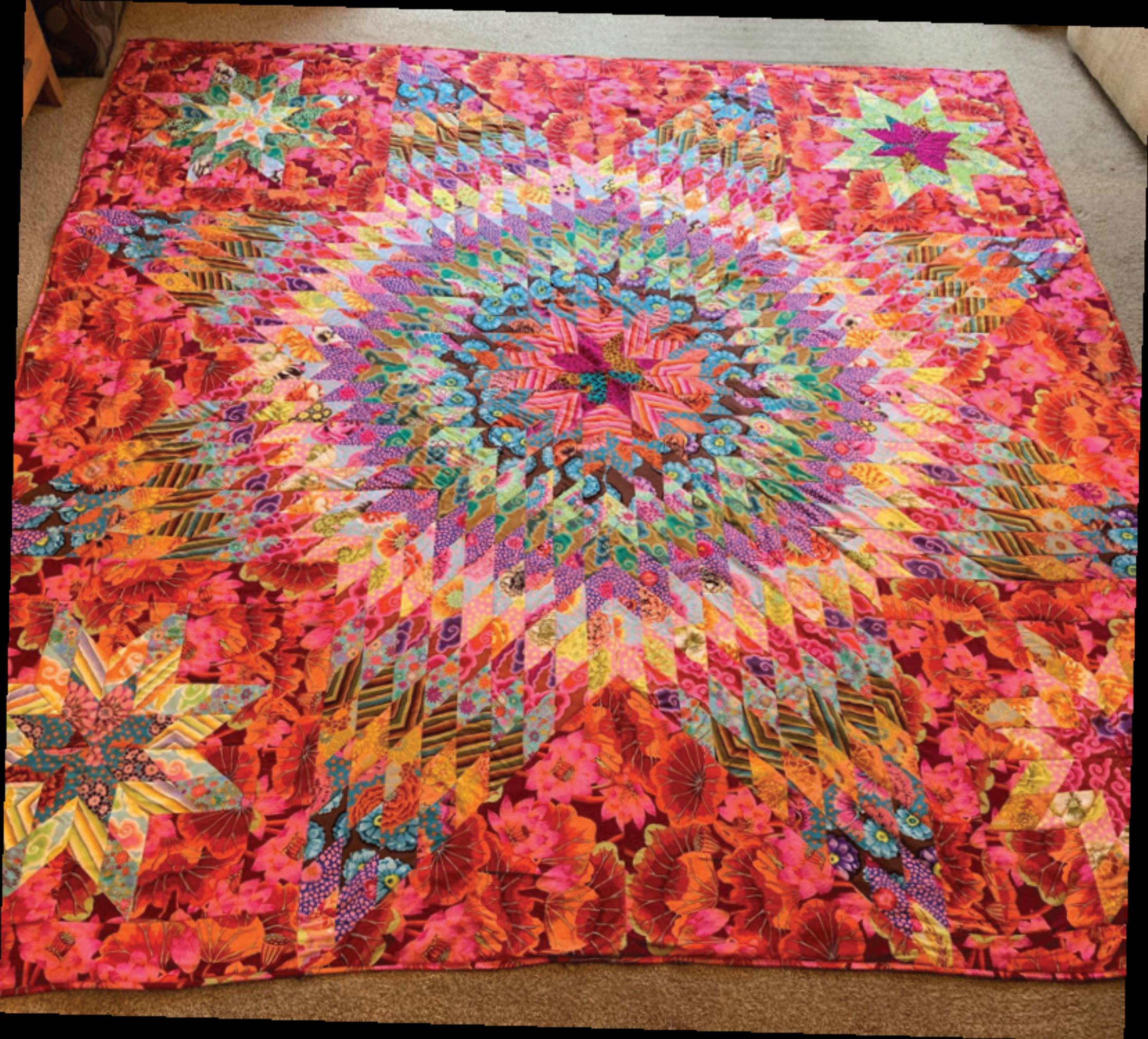 Kaffe Fassett Star Make Quilt Now Issue 66