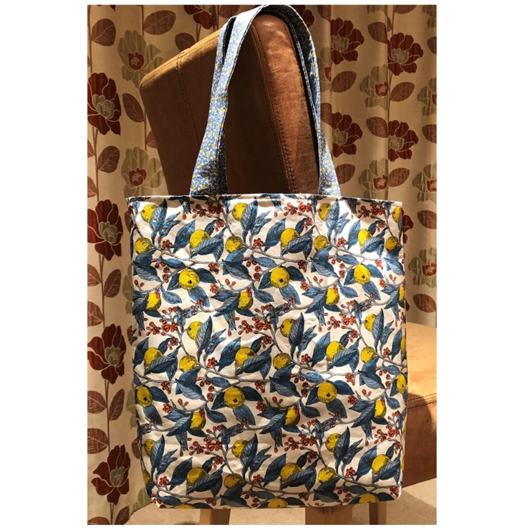Liberty Lemons Tote Bag