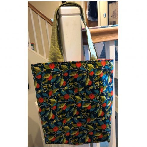 Liberty Orange Tote Bag