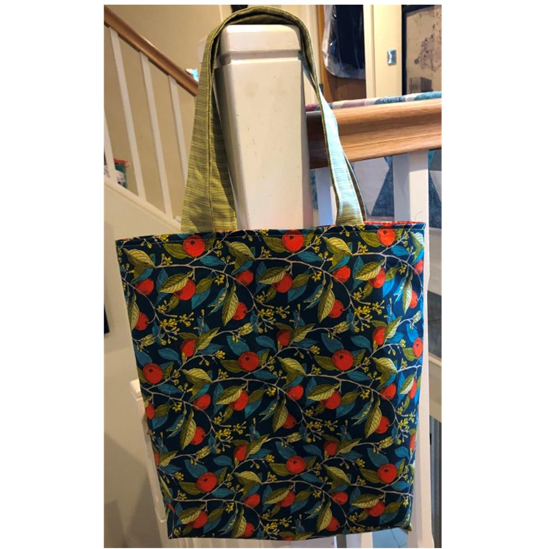 Liberty Orange Tote Bag