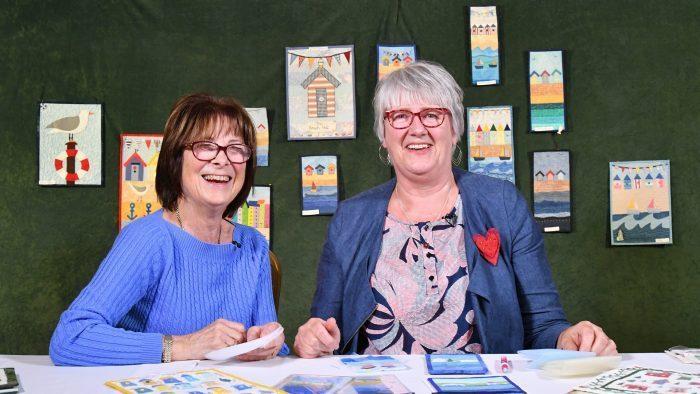 Meet Julia Gahagan - Miniature Quilt Prize Winner at Quilts UK, Malvern 2019