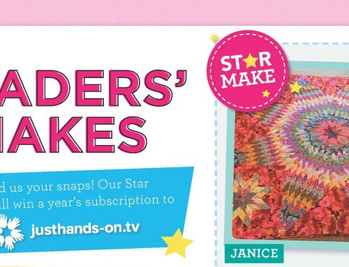 Quilt Now Readers' Makes Competition Winner – Issue 66