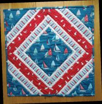 Sea Breeze Cushion Readers Make Quilt Now Issue 65