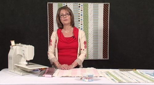 Stitch 'n Flip whole quilt with Valerie Nesbitt