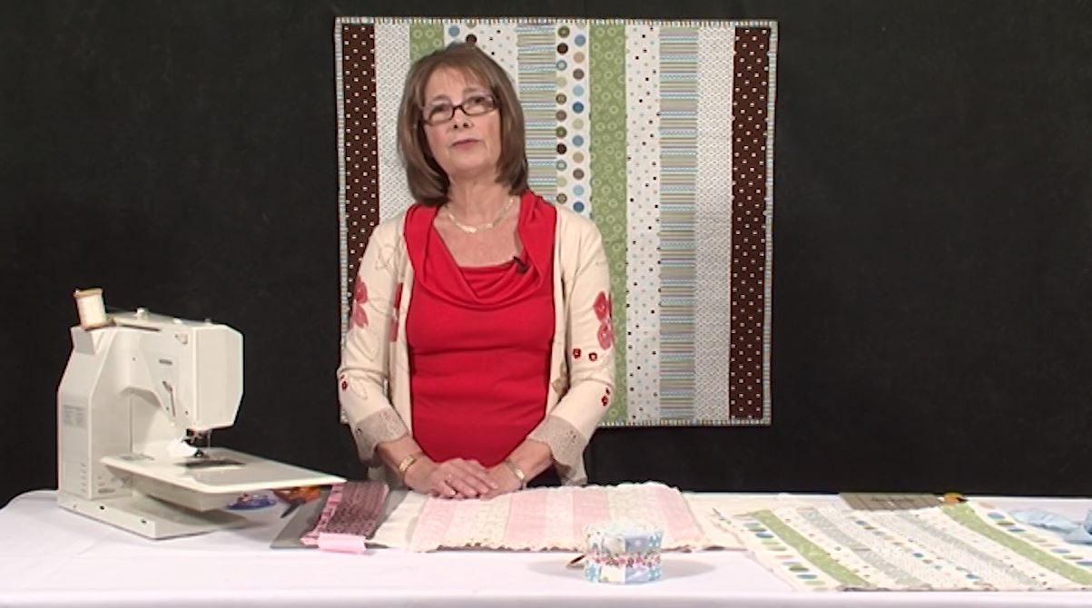 Stitch 'n Flip whole quilt with Valerie Nesbitt