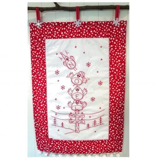 The First Noel Wallhanging pattern designed by Gail Penberthy