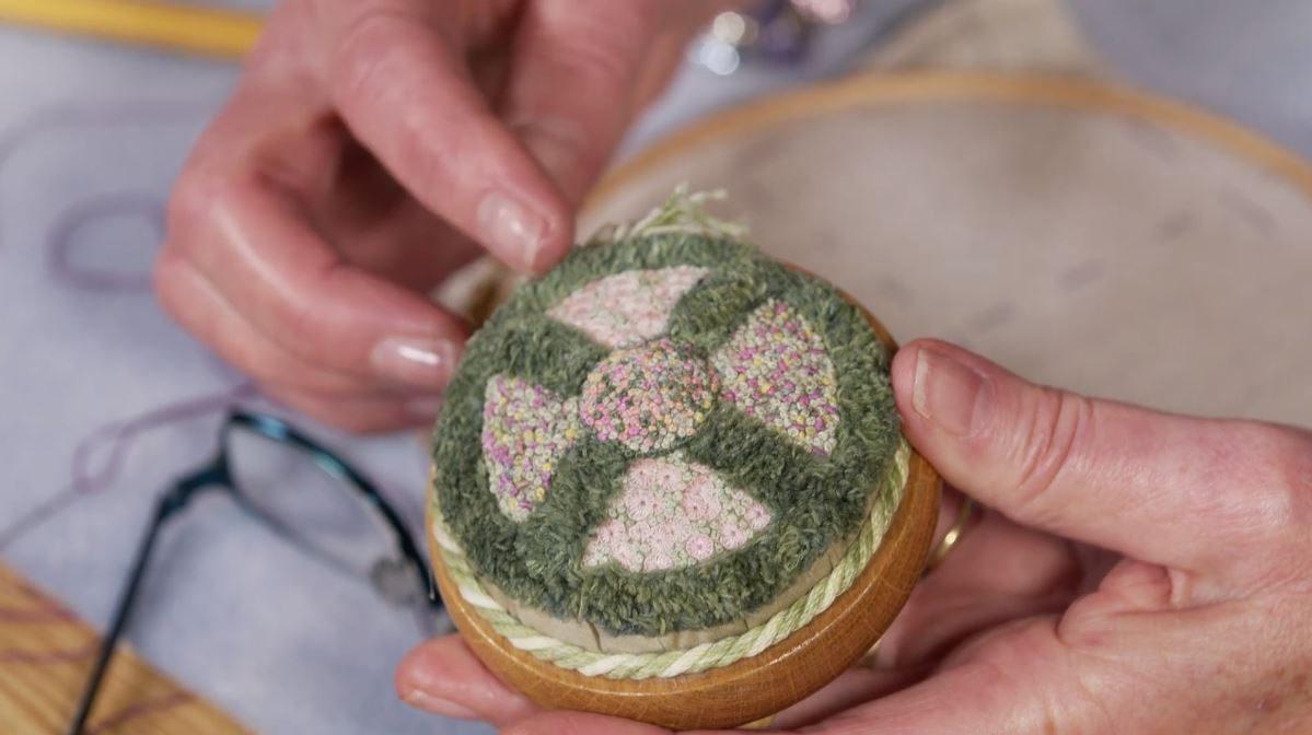 Turkey Work Embroidery Stitch with Lorna Bateman