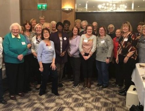 What did they get up to at our early November Quilting weekend?