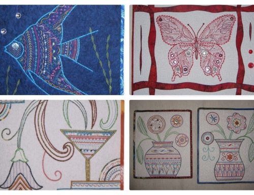 An Embroidery Weekend in Surrey, June 2021