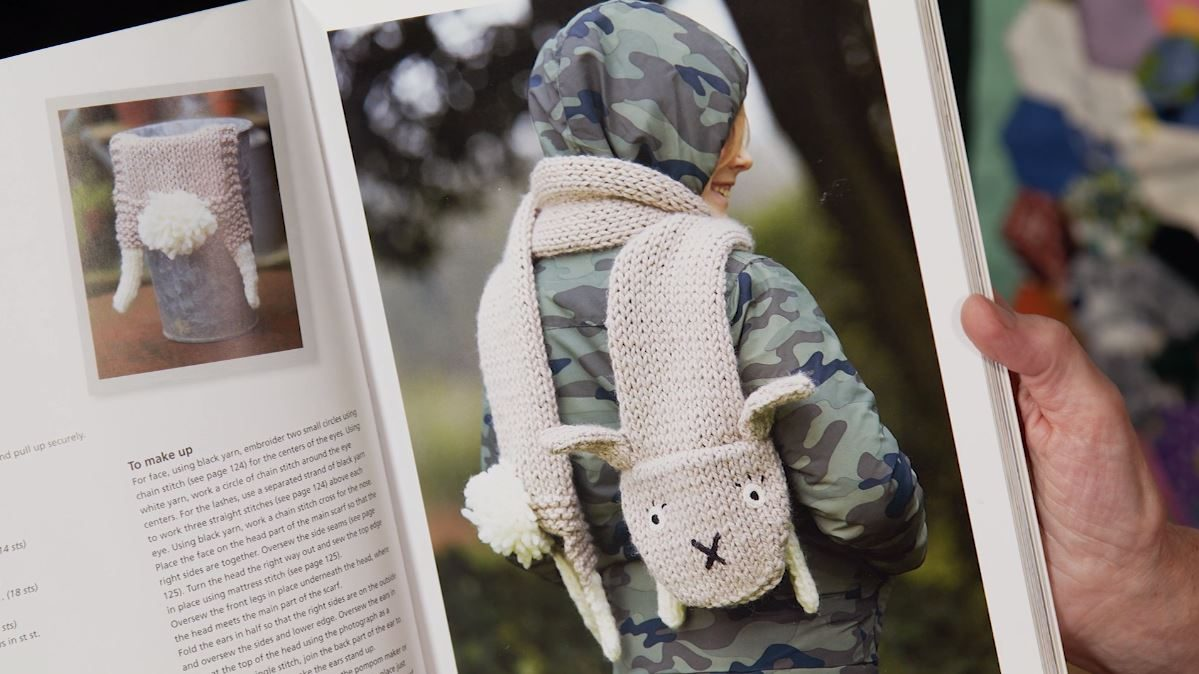 How to Knit a Rabbit Scarf with Fiona Goble