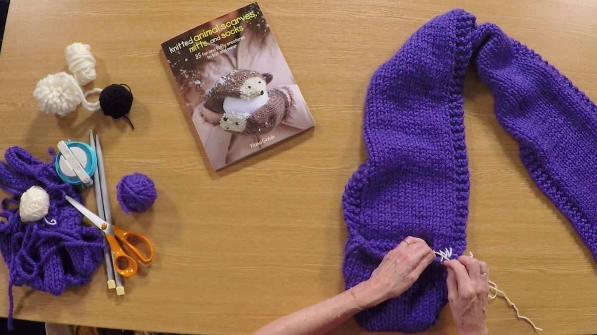 Knitting Mattress Stitch with Fiona Goble
