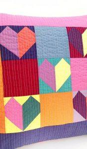 Sweet Heart Pillow Pack 'n Pattern designed by Sarah Ashford