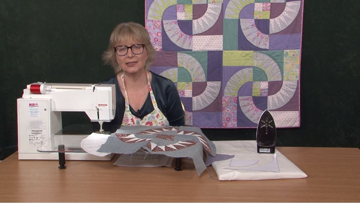 New York Beauty Patchwork block with Sue Rhodes