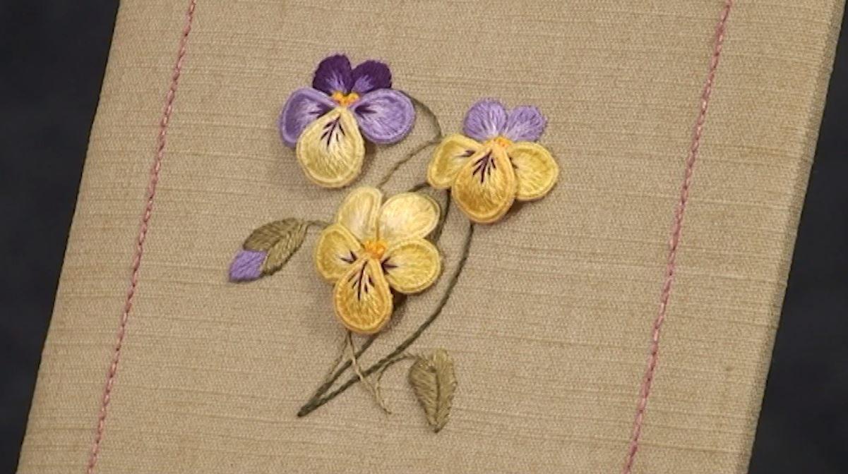 Stumpwork Embroidery course with Kelley Aldridge - Part 1