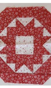 PRODUCT of the MONTH August 20: Scandi Red Star Candle Mat Kit from Creative Quilting