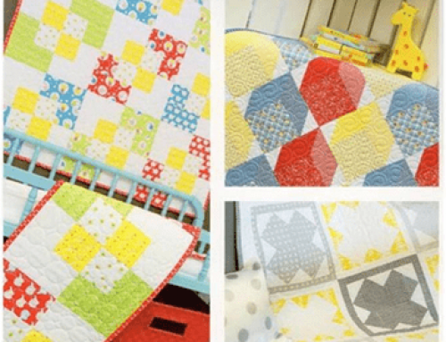 Learn how to make a very special Baby Quilt