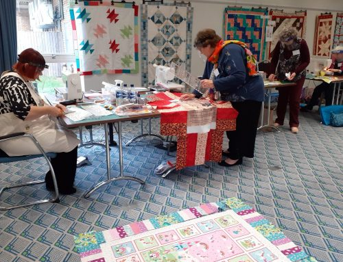 Patchwork and Quilting Weekend, October 2020