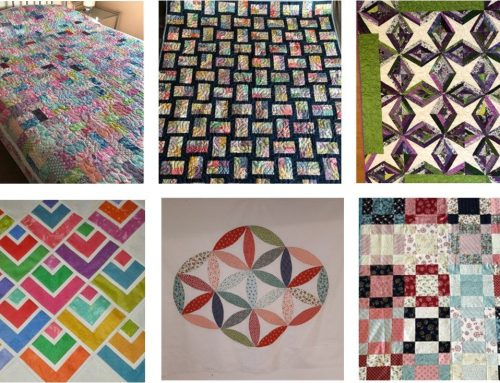 A Patchwork Weekend in Hampshire, October 2021