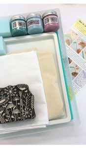 Complete Block Printing Kit: Meadow Design from The Arty Crafty Place
