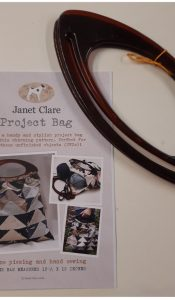 PRODUCT of the MONTH Feb 21: Project Bag Sewing Pattern by Janet Clare PLUS Bag Handles