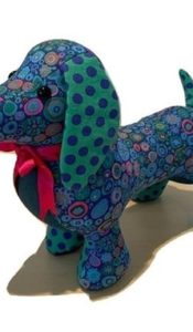 PRODUCT of the MONTH Apr 21: Kaffe Fassett Hound Kit! – Digger Dachshund Kit from Lady Sew and Sew
