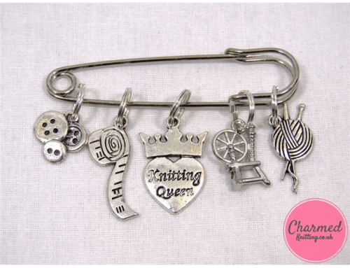 Subscriber Giveaway for June 2021 – Craft Queen – Knitting Stitch Marker Set by Charmed Knitting