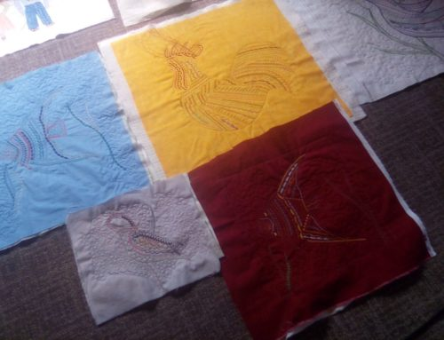 Update from our June 2021 Embroidery Weekend