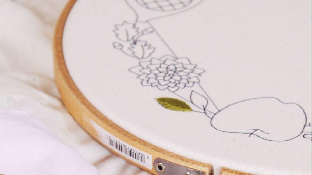 Herringbone Stitch Embroidery Workshop with Niamh Wimperis