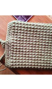 Crunchy Tablet Cosy crochet pattern designed by Jane Czaja (download)