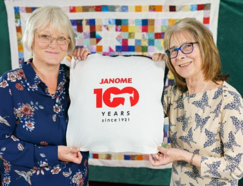 Janome and justhands-on.tv are celebrating Janome's 100 year anniversary with the launch of the #IDidntLikeToAsk Video Series and Prize Draw