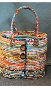 """PRODUCT of the MONTH August 21 """"Aunties Two"""" Camden Bag Kit from Creative Quilting"""