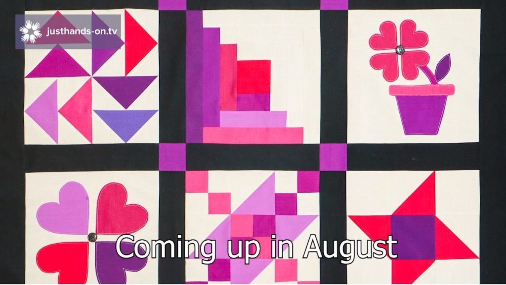 See what's coming up in August 2021