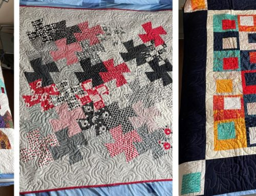 A Quilting Weekend in Hampshire, March 2022