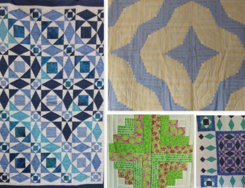 A Patchwork Weekend in Surrey, February 2022