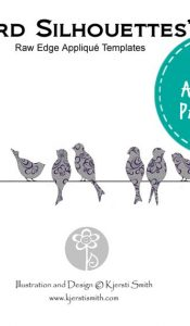 Bird Silhouettes – Appliqué Pattern by Kjersti Smith