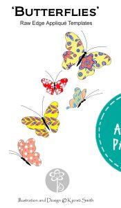 Butterflies – Appliqué Pattern by Kjersti Smith