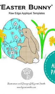 PRODUCT OF THE MONTH APR 20: Easter Bunny – Appliqué Pattern by Kjersti Smith